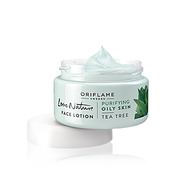 Love Nature Face Lotion Tea Tree  By Oriflame 50 ml 30124