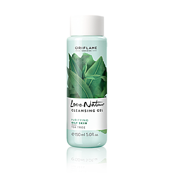 Love Nature Cleansing Gel Tea Tree 30153 By Oriflame