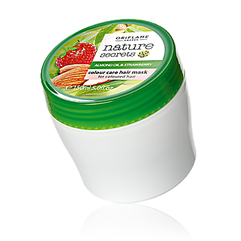Nature Secrets Almond Oil and Strawberry Colour Care Hair Mask By Oriflame
